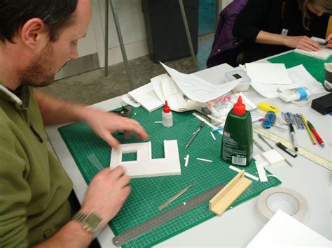 how to make a scale model of a room scale model course at csm davidneat