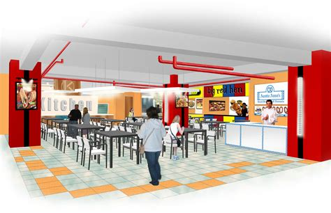 food court design dwg one san miguel food court by i katch on deviantart