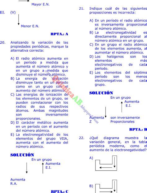 preguntas de logica matematica para universitarios tabla peri 211 dica problemas resueltos tipo examen de ingreso