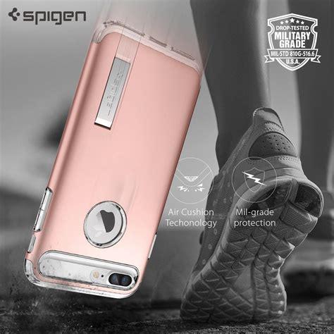 Iphone 7 Plus Spigen Slim Armor husa iphone 7 plus originala spigen slim armor gold