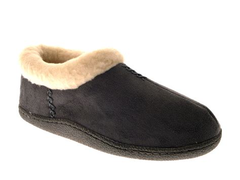 womens slip on slippers womens slipper shoes slip ons warm faux suede fur