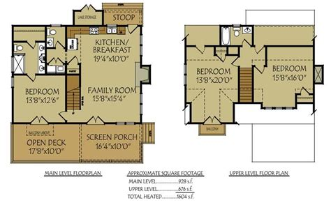 cottage floor plans small bungalow cottage house plan with porches and photos