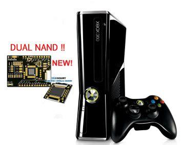 modifica console modifica xbox 360 rgh dual nand dashlaunch