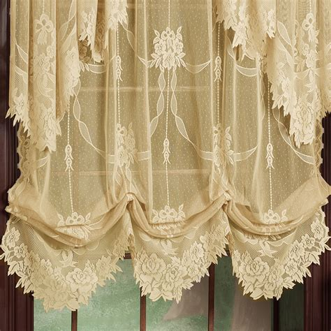 shade curtains garland lace balloon shades