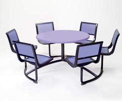 Landscape Forms Picnic Table Mingle Picnic Table Artform Furniture Esi