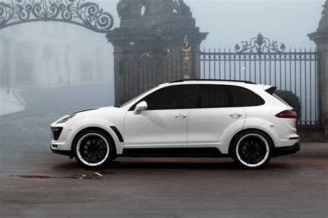 porsche cars white topcar shows white porsche cayenne vantage 2015 kit