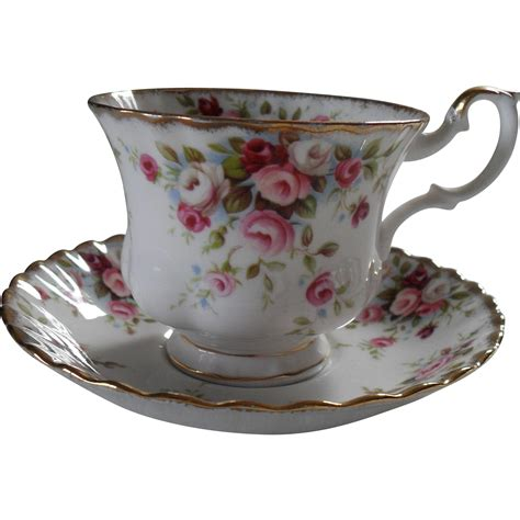 royal albert cottage garden royal albert cottage garden pink roses teacup and saucer