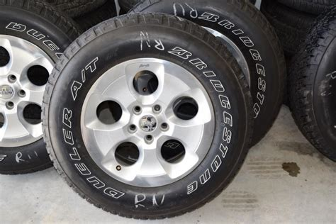 stock jeep wheels and tires jeep wrangler wheels tire package oem factory oem