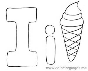 i coloring pages letter i coloring pages preschool crafts
