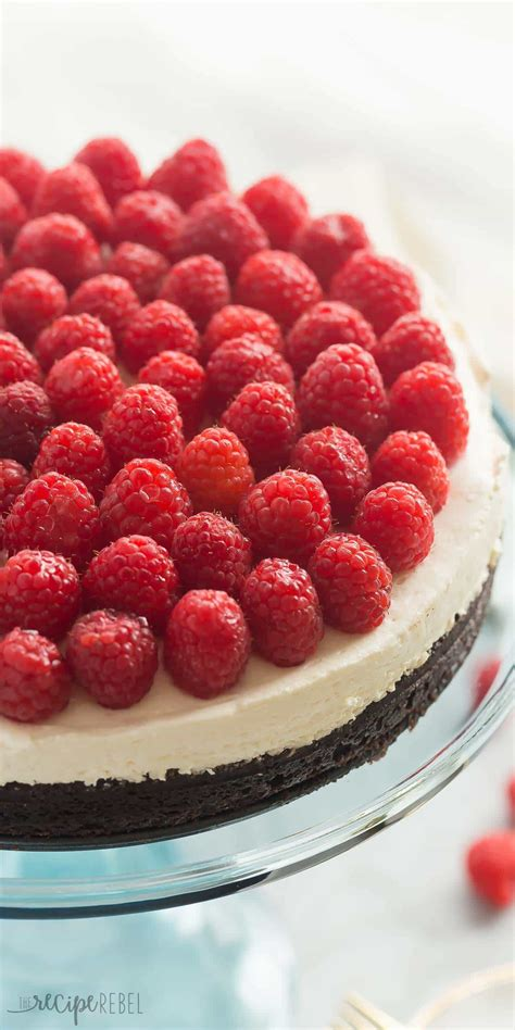 recipes with raspberries brownie bottom cheesecake with raspberries recipe