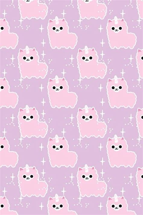cute llama pattern llamacorn new wallpaper i think yes llama page p