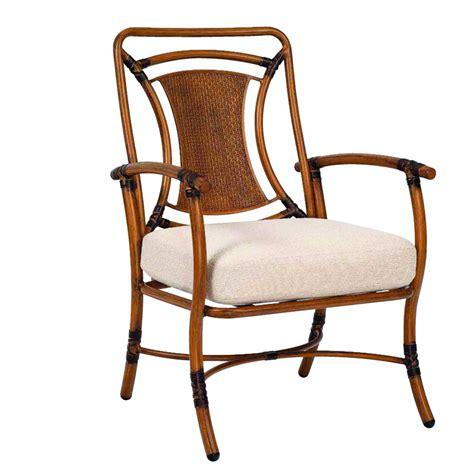 woodard 1t0601 glade isle cushion formal dining arm chair