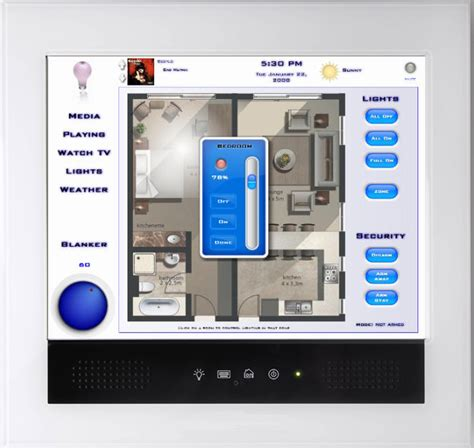 hai home automation teams with borg displays