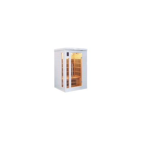 cabina a raggi infrarossi clicson cabina sauna a raggi infrarossi soleil blanc 2