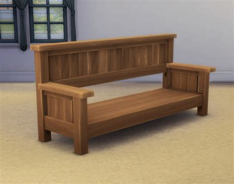 day bed frames my sims 4 blog the missionary day bed frame by plasticbox