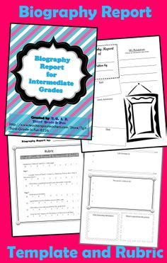 contoh biography poster report facepage biographies students make facepages for