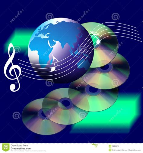 imagenes del internet internet world music and cd stock images image 1405424