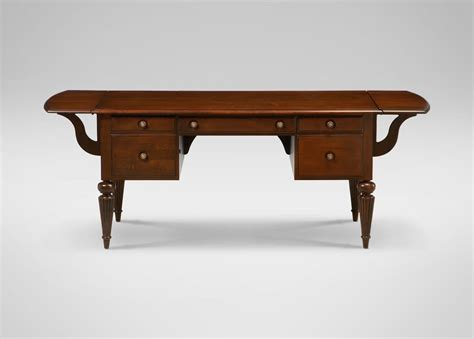 marshall drop leaf desk ethan allen