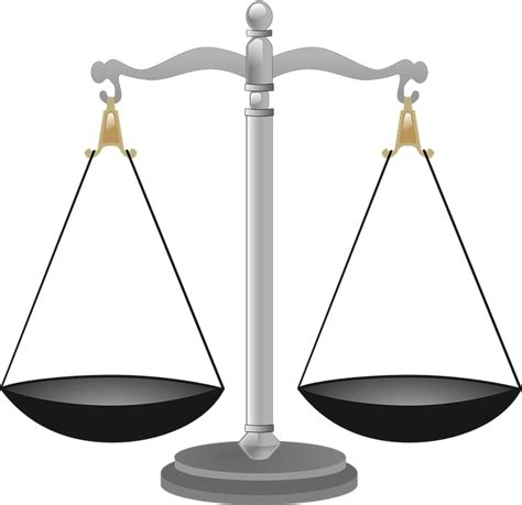 image of a scale scales justice scale 183 free vector graphic on pixabay