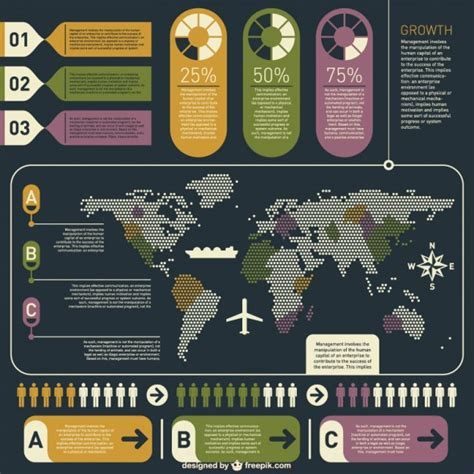 infographics poster layout infographics poster vector free download