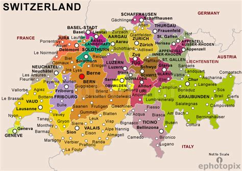 map of switzerland and germany with cities map of switzerland zurich then to luzern then to berne