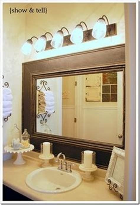Framing Bathroom Mirror With Molding 1000 Ideas About Crown Molding Mirror On Pinterest California Closets Crown Moldings And