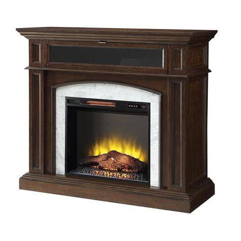 Electric Fireplace Btu by Shop Living Inches W Btu Electric Fireplace At Lowes