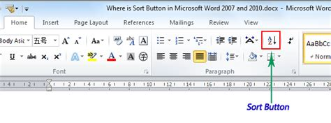 How To Sort A Table In Word by Archives Backuperspeak