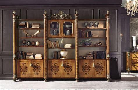 librerie classiche di lusso libreria modulare classica di lusso per ufficio e salotto