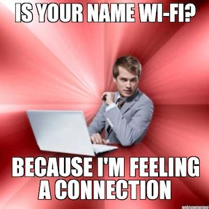 Pick Up Guy Meme - 7 funny geeky pick up lines for valentine s day say