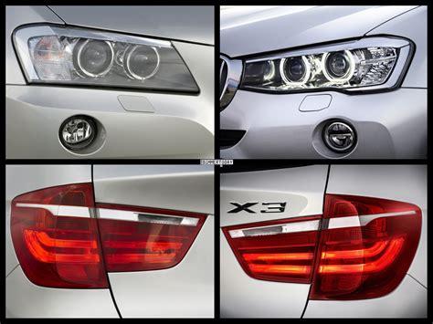 Bmw 3er Touring Vs X3 by 2015 Bmw X3 Facelift Vs Bmw X3 Pre Facelift Photo