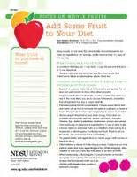 Add Some Fresh Fruit To Your Diet by What S New Food And Nutrition