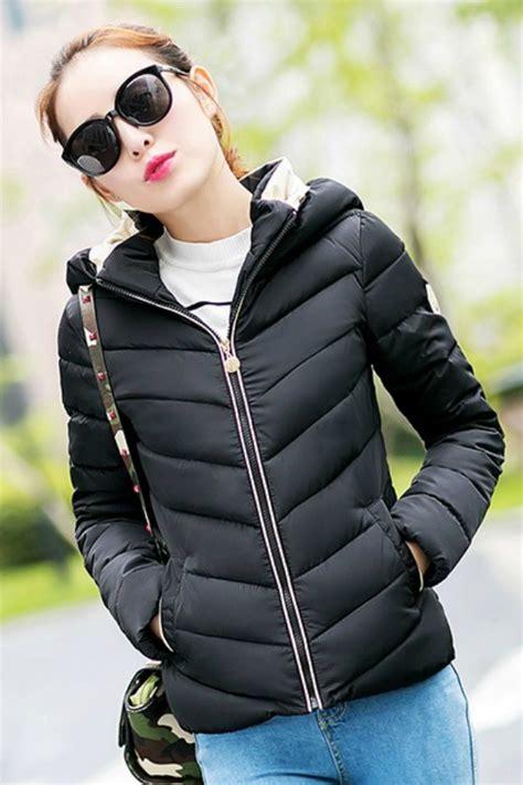 Jaket Hoodie Wanita Black by Jaket Hoodie Wanita Korea Black Korean Jacket