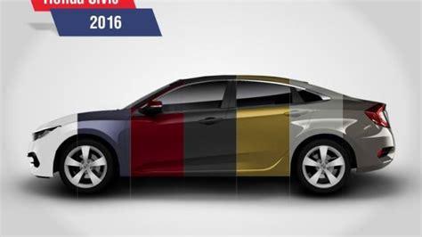 honda discloses civic 2016 in 7 bright and bold colors pakmainstream