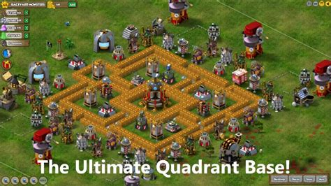 play backyard monsters backyard monsters how to build the ultimate quadrant