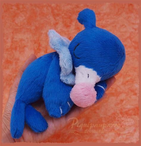 Handmade Stuffed Animals For Sale - popplio handmade plushie pattern for sale by