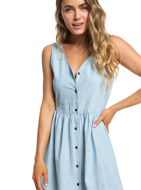 Button Tank Dress For by Central Park Chill Button Front Tank Dress For 3613374196278