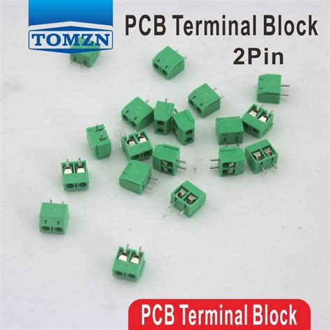 Pcb Connector 3 Pin 5mm Pitch Terminal Block Ctb5000 Blue 100 pcs 2 pin green pcb terminal block connector 5mm