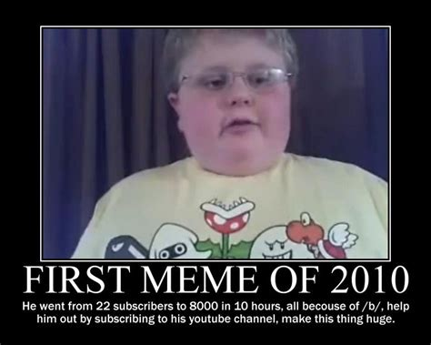 What Was The First Meme - image gallery 2009 memes