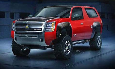 chevy blazer   concept review http