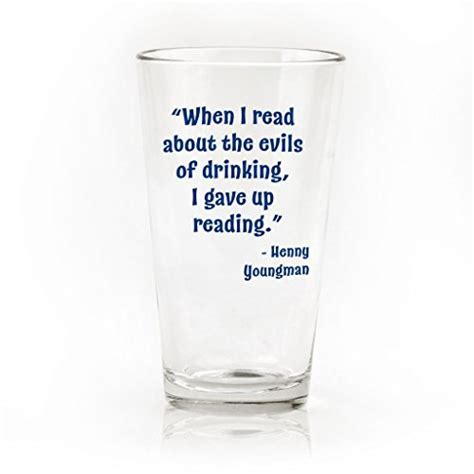 Funny Beer Quote Pint Glasses   Set of 4   Giftsandwish