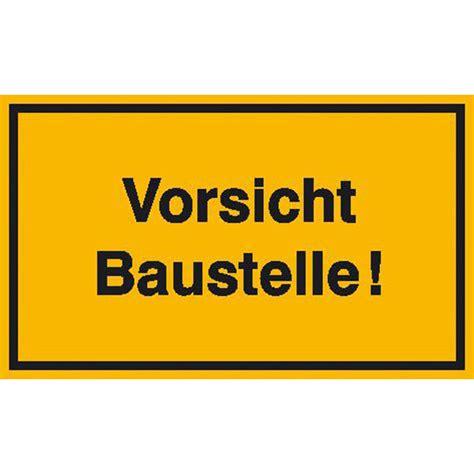 Baustellenschild Kaufen by Baustellenschilder Und Baustellenkennzeichnung G 252 Nstig Kaufen
