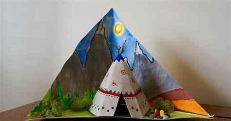 How To Make A Paper Tipi - that artist tipi tri rama