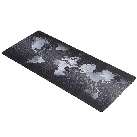 Mouse Pad Laptop 800x400x2mm large size world map mouse pad for laptop