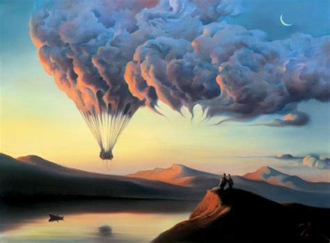 Dali Influenced by Development Of Sentient The Surrealist Of Vladimir Kush