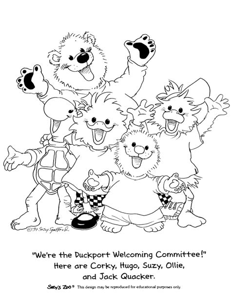 Suzy Zoo Coloring Pages suzy zoo