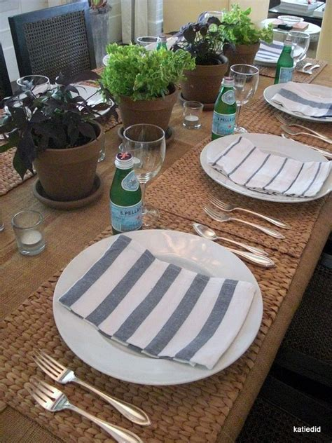 casual table setting 17 best ideas about casual table settings on pinterest