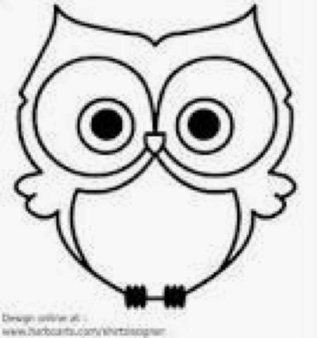 Owl Outlines Drawings by Brookelyn S 10 Pinch Pot Owl