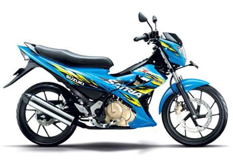 Lu Untuk Motor Satria Fu harga motor suzuki new satria fu 2014 facelift dan harga