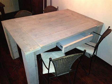 offerte lade tafel steigerhout met lade